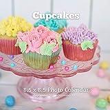 Cupcakes 8.5 X 8.5 Calendar September 2021 -December 2022: Monthly Calendar with U.S./UK/ Canadian/Christian/Jewish/Muslim Holidays-Cooking Frosted Cupcake Cakes
