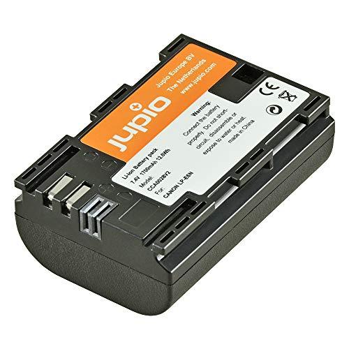 Jupio CCA0028 - Batería Equivalente a Canon LP-E6N (Li-Ion 1700 mAh)