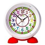 ertt EasyRead Time Teacher ERAC2-COL-24 Reloj Despertador de mesita de Noche para Que los niños aprendan la Hora