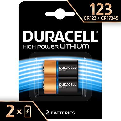 Duracell 123 - Pila especial para cámaras fotográficas, pack de 2