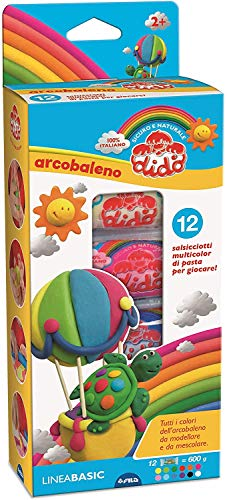 Didò - Arcobaleno Pasta Modellabile, Multicolore, 397900