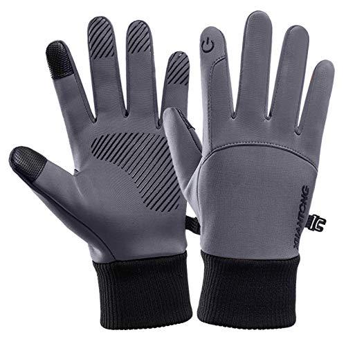 Handschuhe Sport Touchscreen-Handschuhe Damen und Herren Herbst- und Winterwärme sowie Samtreiten Skifahren Winddicht wasserdicht Bergsteigen rutschfest Fahrradhandschuhe
