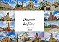 Dessau Rosslau Impressionen (Tischkalender 2022 DIN A5 quer): Eine wunderschoene Bilderreise durch Dessau Rosslau (Monatskalender, 14 Seiten )