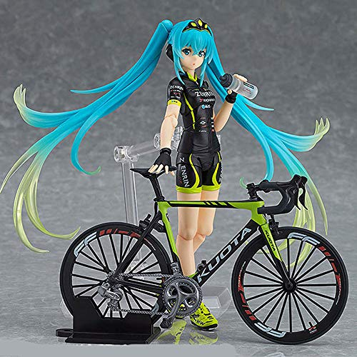 HYKCSS Hatsune Miku Bicicletas Hatsune Miku Lady Cebolla Posure Posure PVC Material Figura Anime Modelo Modelo Toys Regalos