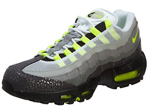 Nike Air Max 95OG 'Neon Safari' Premium Herren Sneaker, Grau - grau - Größe: 40 EU