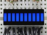 Adafruit–10segmento Barra de luz LED Pantalla–Parent Azul Azul...
