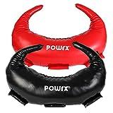 POWRX Saco Búlgaro 5-22 kg – Ideal para Ejercicios de Functional Fitness y potenciamiento Muscular – (12 kg/Negro)
