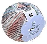Rico Baby Dream dk Fb. 010, weiche Babywolle mit Farbverlauf zum Stricken & Häkeln