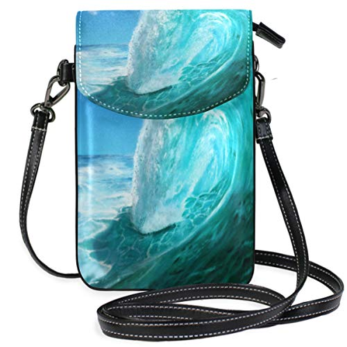 ❀Cell phone wallet: Perfect size to smart phone, such as iPhone XS/ iPhone X, iPhone 8/ 8 Plus / 7/ 7 Plus/ 6s Plus/,Samsung Galaxy Note 8, Note 5, Note 4, Note 3, Galaxy S3, S4, S5, S6, S7, S8, S9, S9, Google Pixel XL plus more. Fit for Women, Ladie...