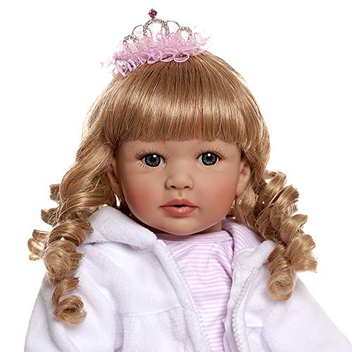 Zero Pam Reborn Baby Girl 24inch 60cm Preicess Girl Doll with Real Baby Tutu Dress, Gift for Girls