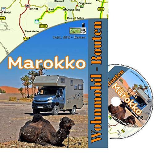 Mit dem Wohnmobil nach Marokko nk.: Wohnmobilrouten Maroko