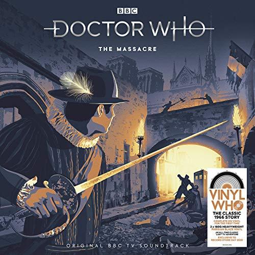 Doctor Who - The Massacre (RSD 2020 - 180g 'Parisian Blaze' Vinyl) [VINYL]