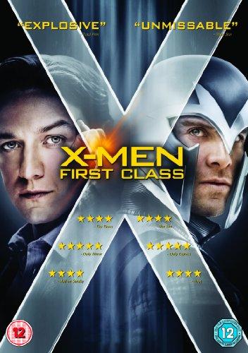 X-Men - First Class [Edizione: Regno Unito] [Reino Unido] [DVD]