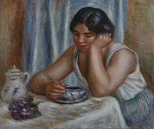 Das Museum Outlet–Die Tasse Schokolade, 1912–Leinwanddruck Online kaufen (152,4x 203,2cm)