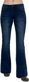 Cowgirl Tuff Women's Dark Wash Just Trousers