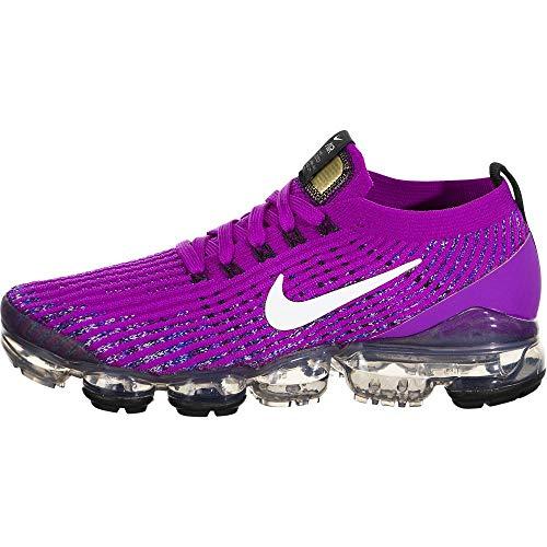 Nike Air Vapormax Flyknit 3 Aj6910-502 - Zapatillas de running para mujer, Morado (Púrpura vívido/Blanco/Azul Racer), 38 EU