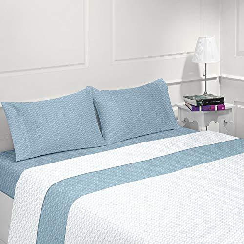 LiNANDELLE AGORIA - Juego de sábanas de franela de algodón
