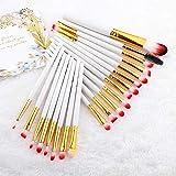 20 Makeup Brush Set, Eye Shadow, Liquid Foundation, Eyeliner, Eyelashes, lip Makeup Brush, Cosmetic Beauty Tool Set