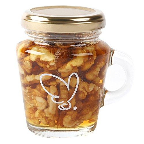 国産蜂蜜 のハニーナッツ(クルミ) 120g
