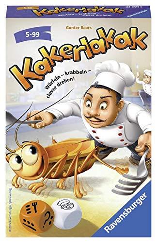 Kakerlakak: Würfeln – Krabbeln – clever drehen!