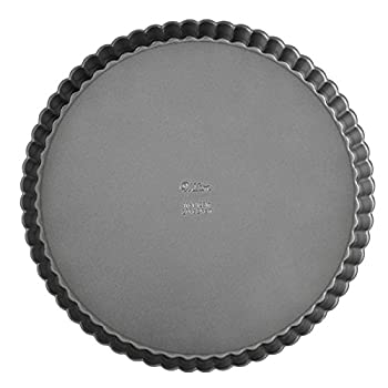 Wilton Excelle Elite Non-Stick Tart and Quiche Pan with Removable Bottom 9-Inch -