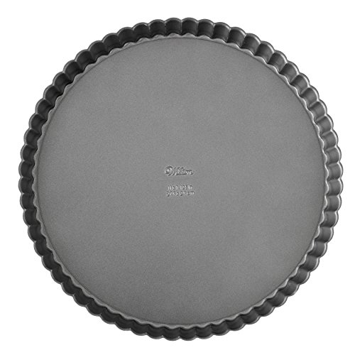 Non-Stick Tart Pan with Removable Bottom, 9-Inch