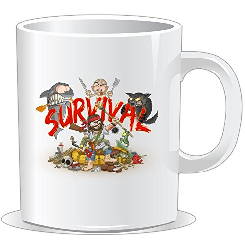 getshirts - Gronkh Official Merchandising - Tasse - Survival - Uni Uni