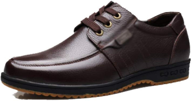 NIUMT Autumn Wearable shoes, Casual Men's shoes, Lace-up shoes, Comfortable