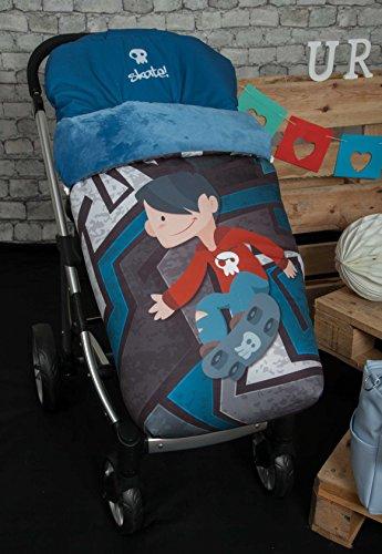 Happy Way voetenzak voor kinderwagen, skater, voetenzak
