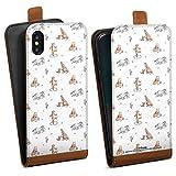 DeinDesign Étui Compatible avec Apple iPhone X Étui à Rabat Étui magnétique Winnie l'ourson...