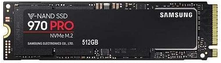 Samsung 970 PRO MZ-V7P512E 512 GB Solid State Drive - PCI Express (PCI Express 3.0 x4) - Internal - M.2 2280-3.42 GB/s Maximum Read Transfer Rate - 2.25 GB/s Maximum Write Transfer Rate - 256-bit