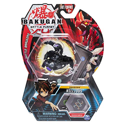 Bakugan, Nillious, 2-inch Tall Collectible Transforming Creature, for Ages 6 and Up