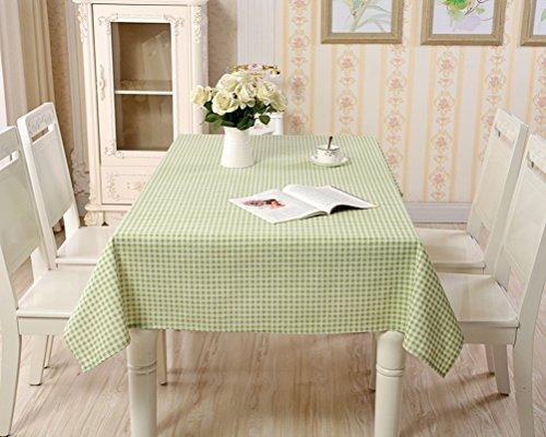 Eazyhurry Nappe rectangulaire Noir à carreaux blancs, Vert à carreaux, 35.4\