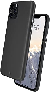 Caudabe Veil iPhone 11 Pro Ultra Thin Case with Micro-Etched Matte Texture for iPhone 11 Pro (Stealth Black)