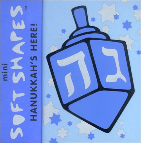 Mini Soft Shapes: Hanukkahs Here!