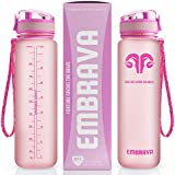 Embrava Best Sports Water Bottle - 32oz Large -...