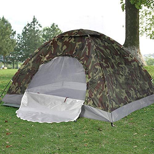 Tienda Jaksons para acampar al aire libre, camuflaje, campamento familiar, senderismo, bosques, tienda para 4 personas, impermeable