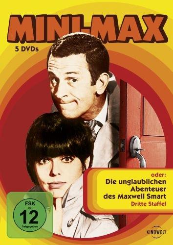 oder Die unglaublichen Abenteuer des Maxwell Smart - Staffel 3 (5 DVDs)