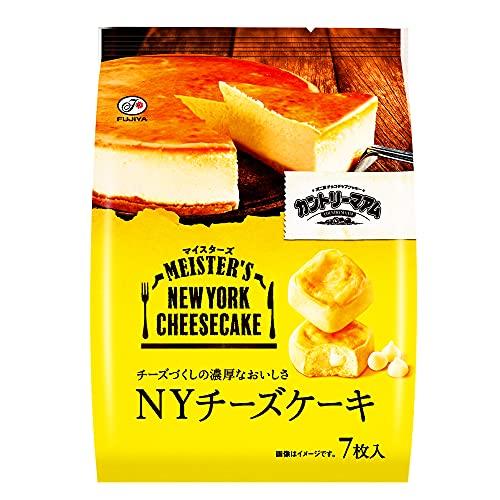 不二家 カントリーマアムマイスターズ(NYチーズケーキ) 7枚 ×5袋