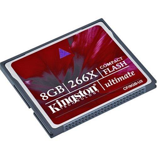Kingston CF/8GB-U2 266X Compact Flash Ultimate