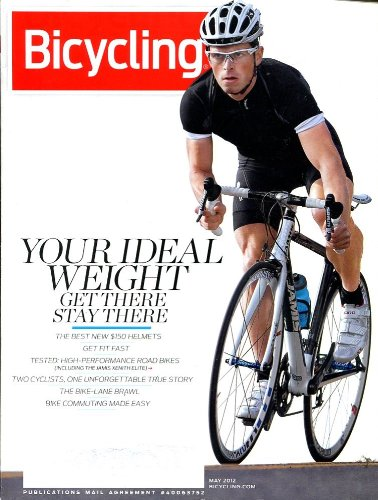 BICYCLING MAGAZINE MAY 2012 /BEST HELMETS /ROAD BIKES TESTS /BIKE COMMUTING+++++