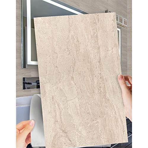 Ancoree Efecto Piedra 30 x 60cm Pegatinas de Pared para la Encimera del Piso del Baño de la Cocina Calcomanías de Muebles Impermeables, Pegatina Multifuncional, 6PCS (C)