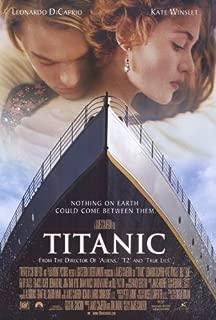 Pop Culture Graphics Titanic 27x40 Movie Poster (1997)