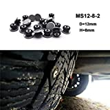 Snow Chains for car Snow chains 50Pcs Winter Tire Spikes Car Tires Studs Screw Snow Spikes Wheel Tyre Snow Chains Studs For Auto Car Motorcycle SUV ATV Truck Off-road tire chain Anti Slip Tire