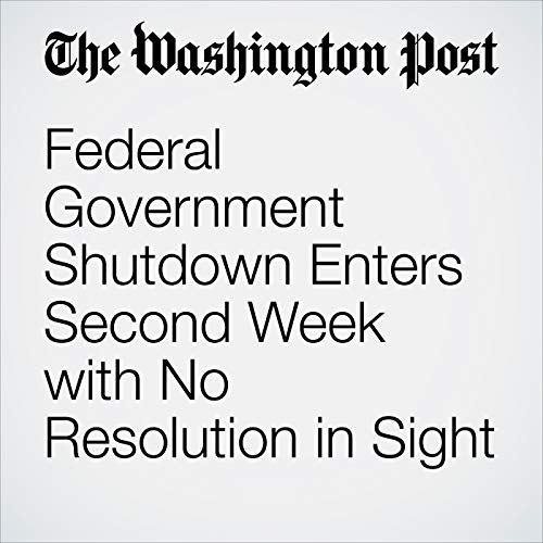 『Federal Government Shutdown Enters Second Week with No Resolution in Sight』のカバーアート