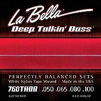 LA BELLA (ラベラ) ベース弦 760THBB Beatle Bass White Nylon Tape 50-100