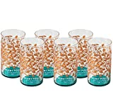 Silent Pool Gin Tumbler Glass Set in Matt Finish (6 Pack)