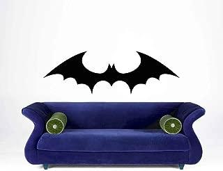 Bat Decal Bat Decor Batman Wall Art Decal Kids Wall Art Boy's Bedroom Decor Childrens Vinyl Decal Cave Home Decor Bat Cave Decor and Stick Made in USA