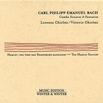 Carl Philipp Emanuel Bach: Gamba Sonatas & Fantasias