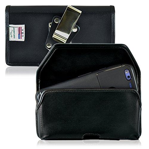 TURTLEBACK Belt Case made for Google Pixel XL Black Holster Leather Pouch...